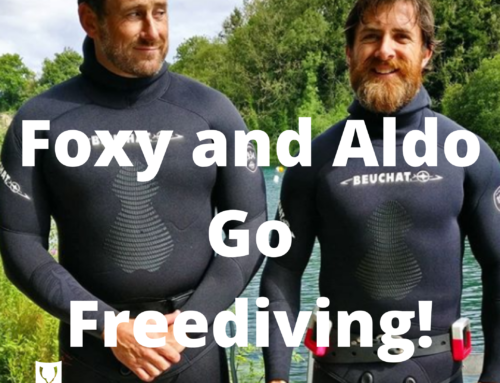Foxy and Aldo Learn to Freedive