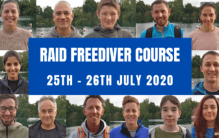 RAID Freediver Course 25 26 july