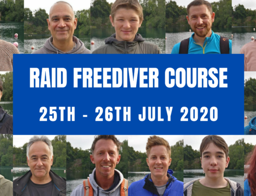 RAID FREEDIVER COURSE 25TH – 26TH JULY 2020