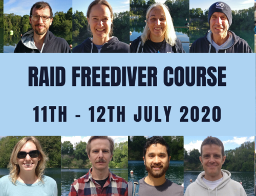 RAID FREEDIVER COURSE 11TH – 12TH JULY 2020