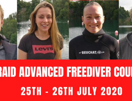 RAID ADVANCED FREEDIVER COURSE 25TH – 26TH JULY 2020