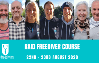 RAID Freediver Course 22 August 2020