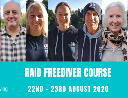 RAID FREEDIVER COURSE 22nd – 23rd  August 2020