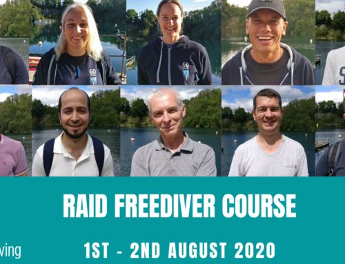 RAID FREEDIVER COURSE 1st – 2nd August 2020