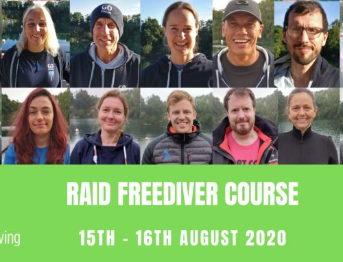 RAID FREEDIVER COURSE 15th – 16th  August 2020